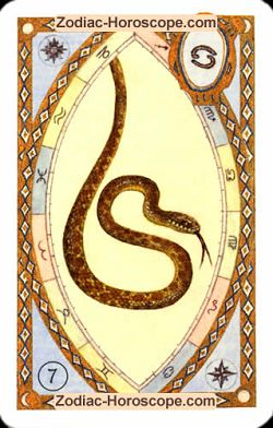 The snake, monthly Love and Health horoscope May Cancer
