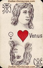 The Venus psychic card meaning