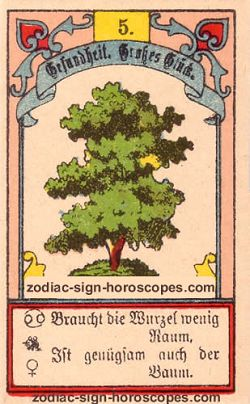 The tree, monthly Cancer horoscope October