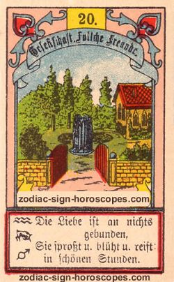 The garden, monthly Cancer horoscope April