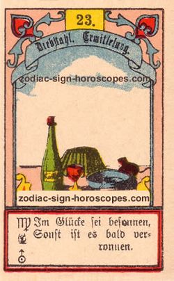 The mice antique Lenormand Tarot